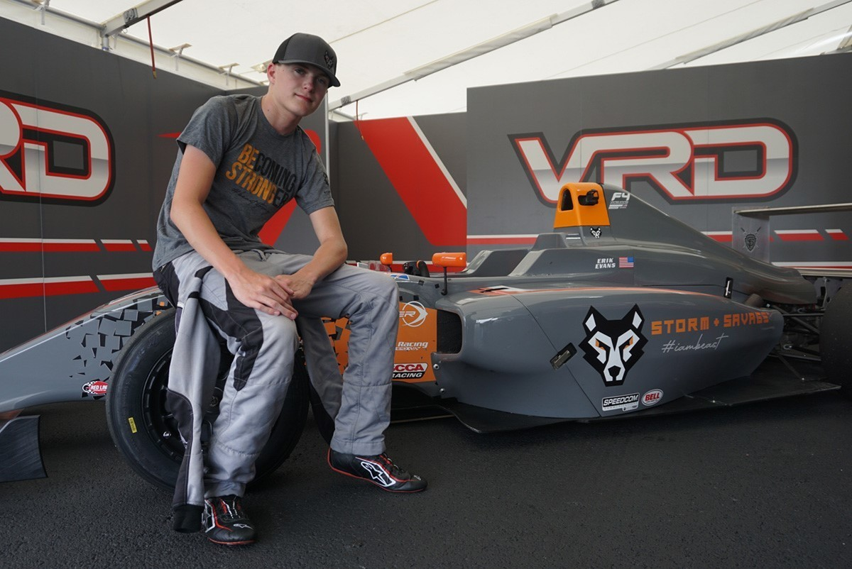 Two Top-10 Results for Erik Evans in F4 Debut asRookie Looks to Improve at Upcoming VIR Event
