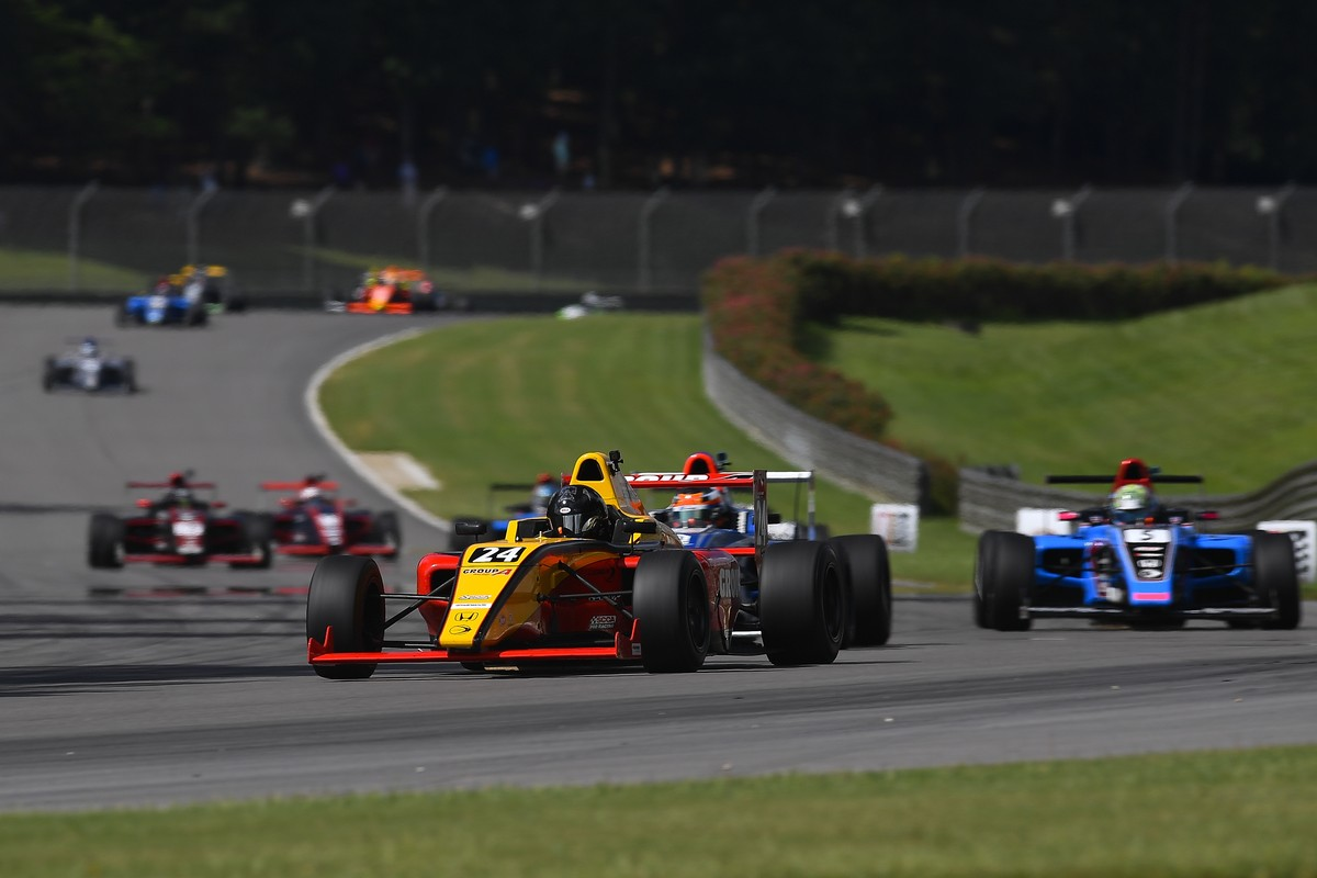 Group-A Racing Scores Top Results at Barber