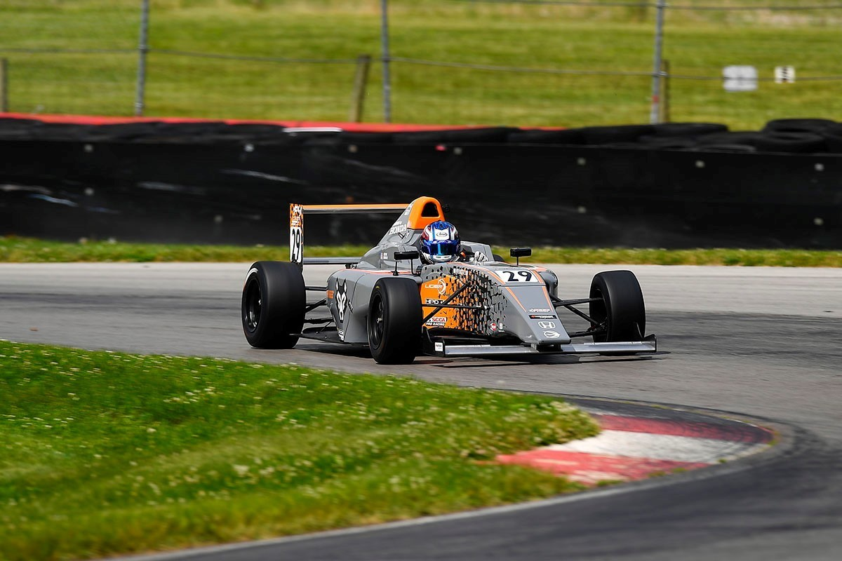 Erik Evans Looks to Turn Test Speed into Race Results This Weekend  at Sebring International Raceway