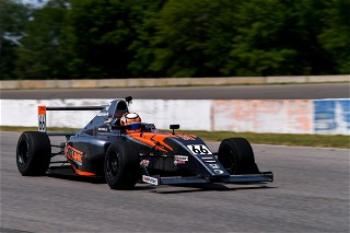 Shehan Passes More Cars than Any Other F4 driver at Brainerd