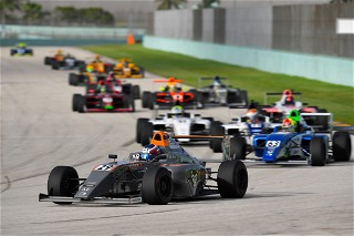 Erik Evans with Velocity Racing Development is returning for the final two F4 United States Championship Races