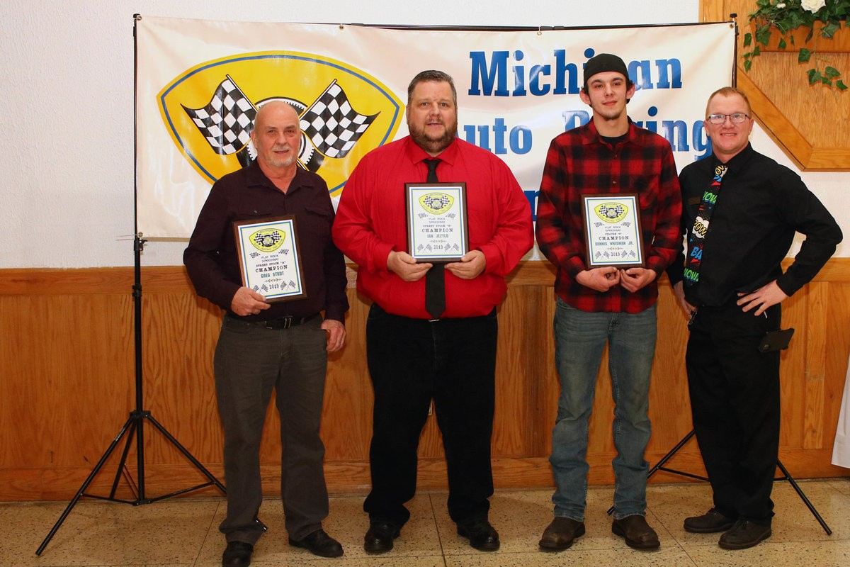 FLAT ROCK, TOLEDO CHAMPS HONORED AT MARFC BANQUET