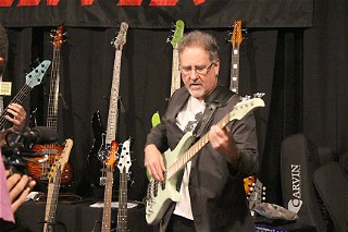 Brian Bromberg at the Carvin Booth