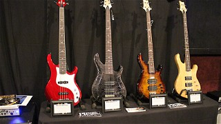 The PRS Guitars Booth