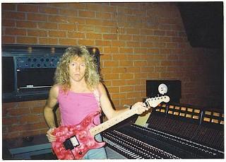 Bobby Pieper 1986 In The Studio With Xyz