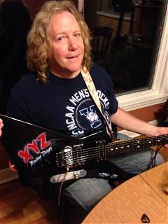 Bob With Xyz Guitar