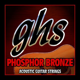 GHS Strings Acoustic Guitar Phosphor Bronze Strings