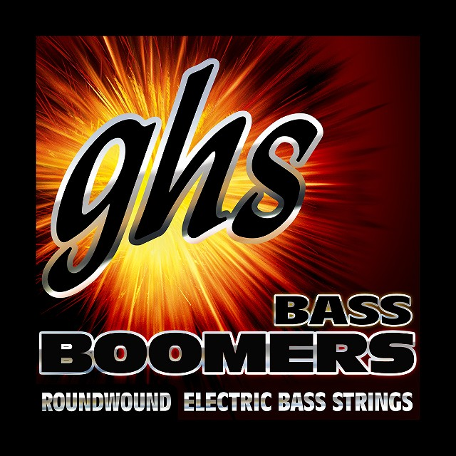 GHS Strings Bass Boomers for Electric Bass Guitar