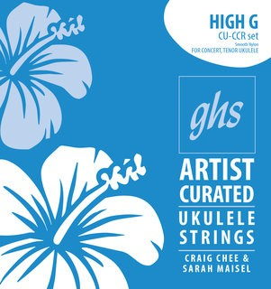 GHS Strings Artist Curated Strings for Ukulele