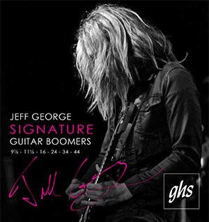 GHS Strings Signature Jeff George Electric Guitar Strings