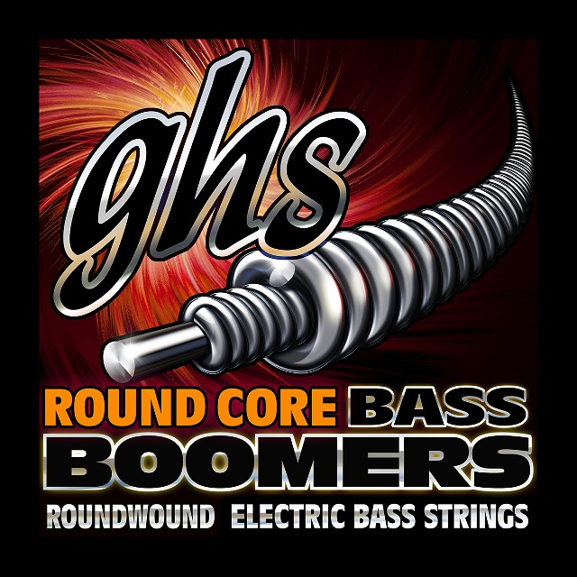 GHS Round Core Bass Boomers for Electric Bass Guitar