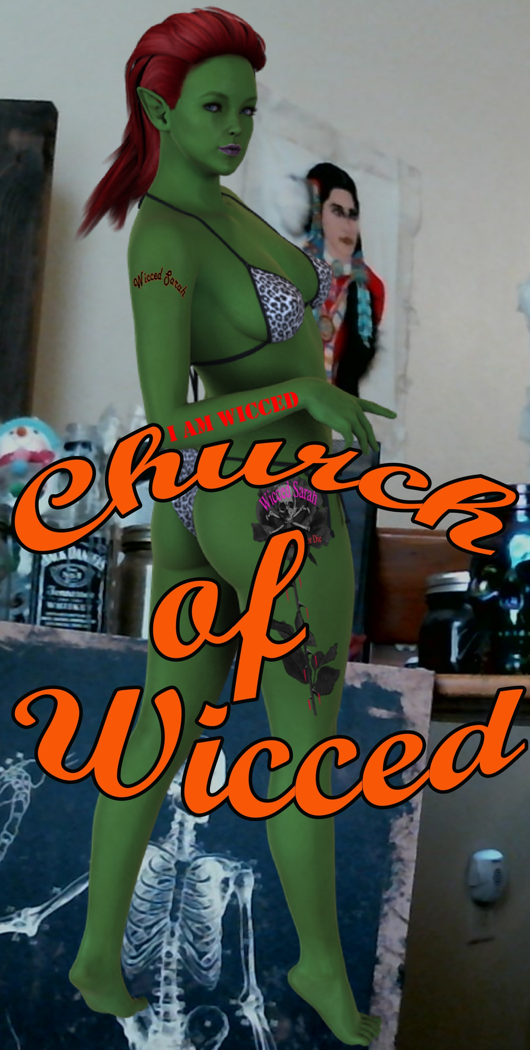 Church of Wicced band logo