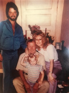 Daddy, Glen Dale, Rachael & Me. 1984