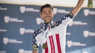 Red, White and Aqua Blue! Warbasse wins US Road Cycling National Champs!