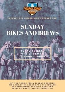 Bikes and Brews Every Sunday @ Timber Ridge!