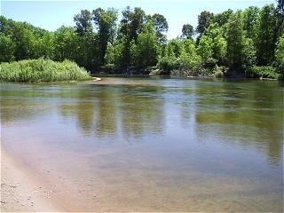 Louise Nowka Manistee River At Highbridge In Brethren 2