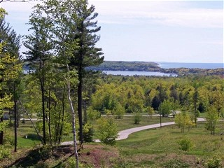 Pat Christie View Of Lake Michigan