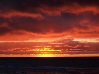 Pat Christie Lake Michigan Sunset