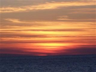 Pat Christie Lake Michigan Sunset 2