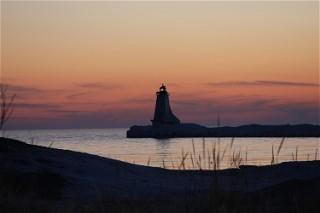 Sonja Potts Ludington Lighthouse