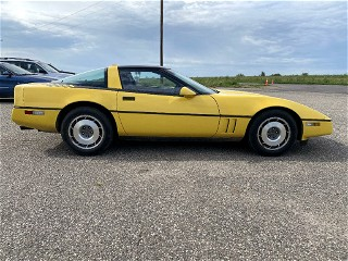 The Yellow Earl. 1987 Corvette
