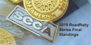 SCCA RoadRally Champions Crowned for 2019