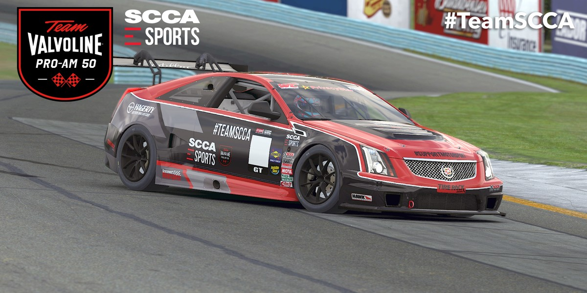 Roster of SCCA eSports Stars Ready To Take On Valvoline's Best in ProAm
