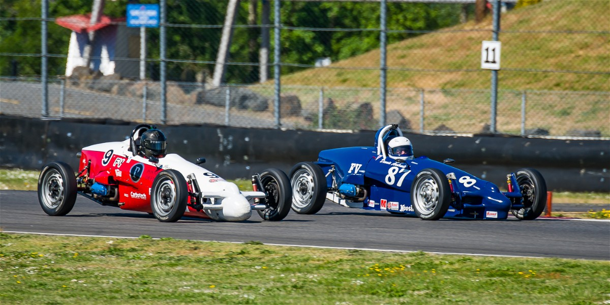 Hoosier Super Tour Portland International Raceway: Sunday Report
