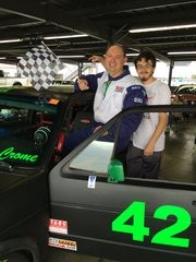 1st Place with my Crew Chief