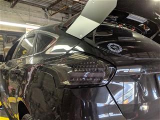 LED tail instal