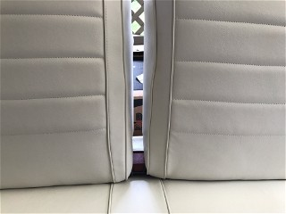 New white seat cover