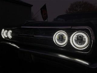 New headlights installed