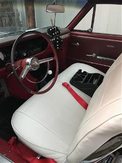 Finished interior