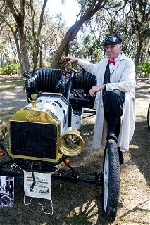 1909 Model T on the Great Endurance Run