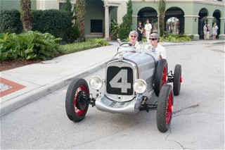 Ford Heacock in the 1929 Ford Speedster