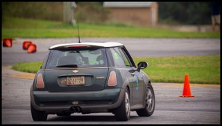 Molly On Her Way To One Last Autocross Win, 20200912 At Summit Point