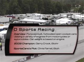 D Sports Racing 2010 SCCA Runoffs