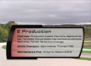 E Production 2010 SCCA Runoffs