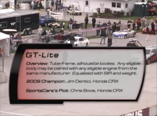 Grand Touring Lite 2010 SCCA Runoffs