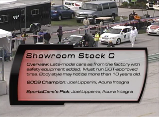 Showroom Stock C 2010 SCCA Runoffs