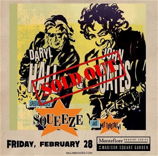 Madison Square Garden with Squeeze