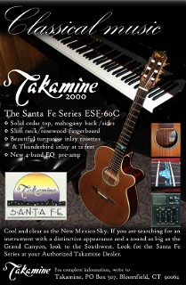 Sparks Takamine Classical Music Ad 7 2012