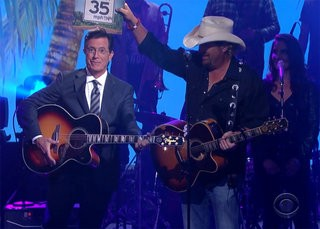 Toby Keith on The Late Show w/Stephen Colbert
