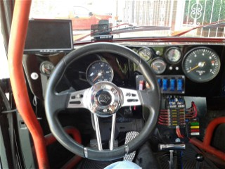 Cockpit of the 74