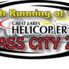 27th Running  of Great Lakes Helicopter Glass City 200 Presented by Holiday Inn Express/Hampton Inn and Central Transport:  200 lap Late Model invitational 5 p.m. start.  Rain date Sun. Sept. 20 at 1 p.m.  *Reserved seating available.