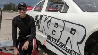 Hocevar testing at Toledo Speedway Part 2