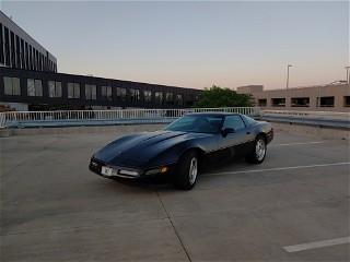 94 Corvette at sunset