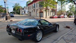 94 Corvette in Downtown